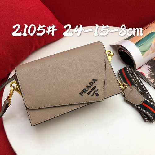 Prada AAA Quality Messeger Bags For Women #813608