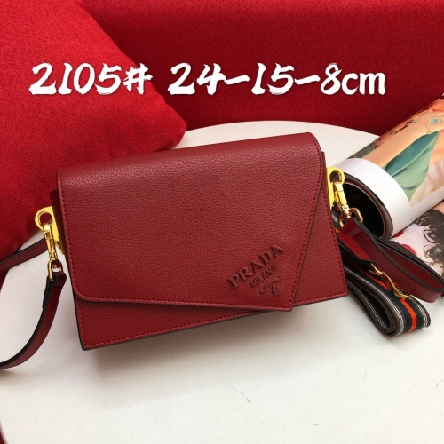 Prada AAA Quality Messeger Bags For Women #813609