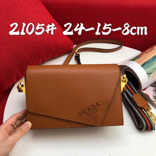 Prada AAA Quality Messeger Bags For Women #813611