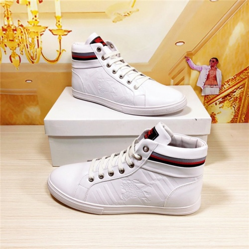 Burberry High Tops Shoes For Men #813680