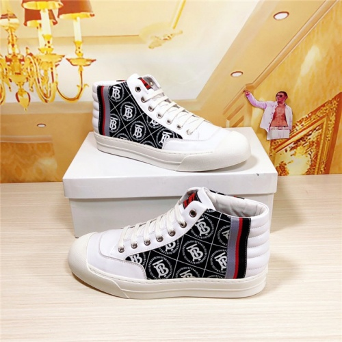 Burberry High Tops Shoes For Men #813682