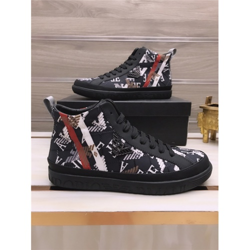 Armani High Tops Shoes For Men #813695