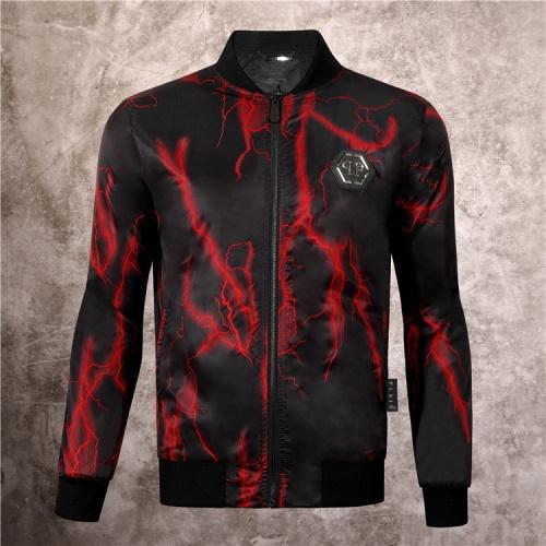 Philipp Plein PP Jackets Long Sleeved Zipper For Men #813765