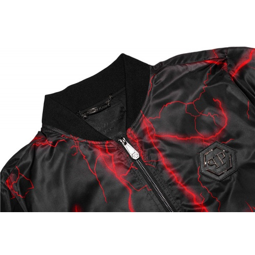 Replica Philipp Plein PP Jackets Long Sleeved Zipper For Men #813765 $68.00 USD for Wholesale