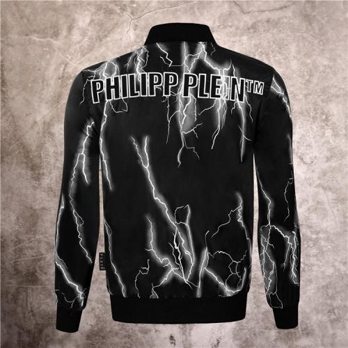 Replica Philipp Plein PP Jackets Long Sleeved Zipper For Men #813766 $68.00 USD for Wholesale