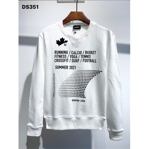 Dsquared Hoodies Long Sleeved O-Neck For Men #813777 $41.00 USD, Wholesale Replica Dsquared Hoodies