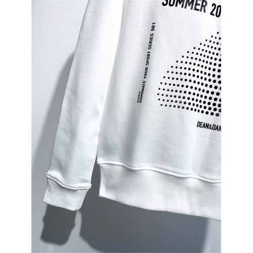 Replica Dsquared Hoodies Long Sleeved O-Neck For Men #813777 $41.00 USD for Wholesale