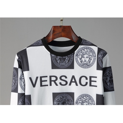 Replica Versace Tracksuits Long Sleeved O-Neck For Men #813814 $85.00 USD for Wholesale