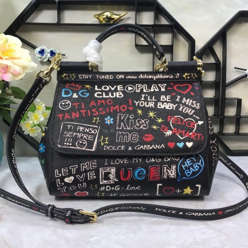Dolce & Gabbana D&G AAA Quality Messenger Bags For Women #813834