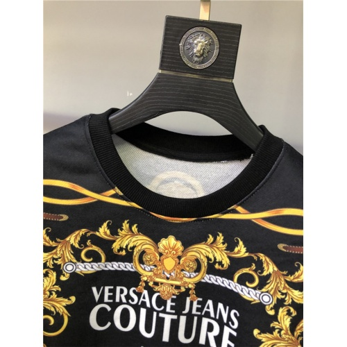 Replica Versace Hoodies Long Sleeved O-Neck For Men #813847 $42.00 USD for Wholesale