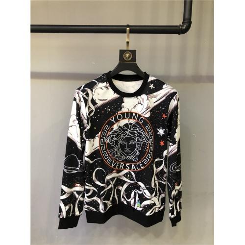 Versace Hoodies Long Sleeved O-Neck For Men #813858