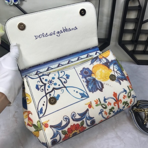 Replica Dolce & Gabbana D&G AAA Quality Messenger Bags For Women #813862 $150.00 USD for Wholesale
