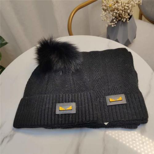 Fendi Scarf & Hat Set #813973