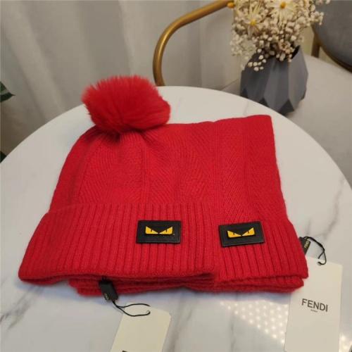 Fendi Scarf & Hat Set #813974