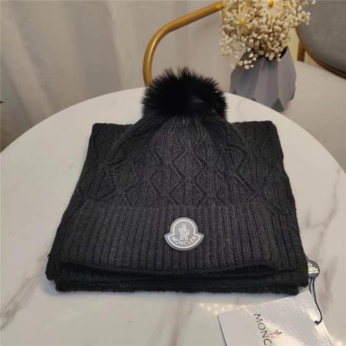Moncler Scarf & Hat Set #813980