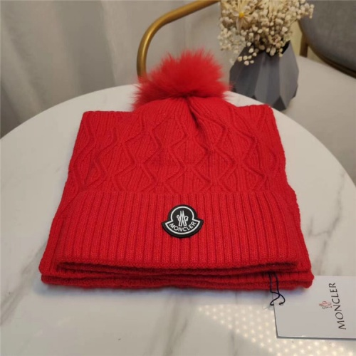 Moncler Scarf & Hat Set #813985