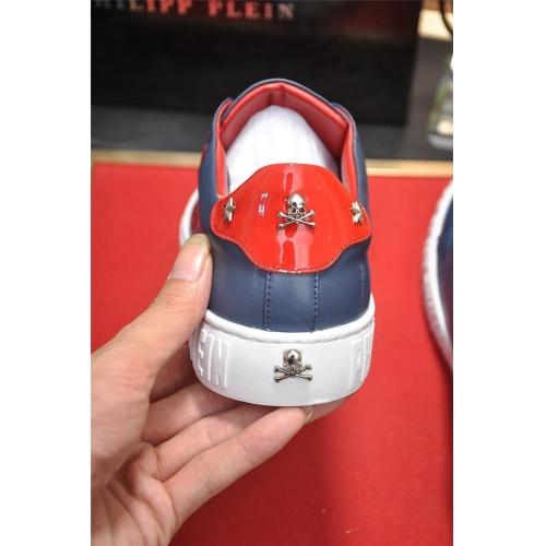 Replica Philipp Plein PP Casual Shoes For Men #814028 $80.00 USD for Wholesale