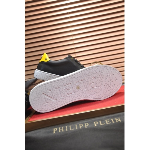 Replica Philipp Plein PP Casual Shoes For Men #814029 $80.00 USD for Wholesale