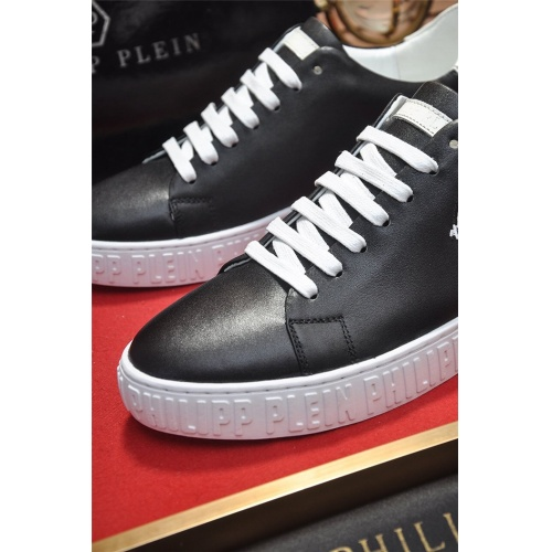 Replica Philipp Plein PP Casual Shoes For Men #814031 $80.00 USD for Wholesale