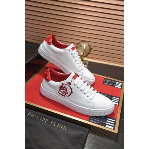Philipp Plein PP Casual Shoes For Men #814032 $82.00, Wholesale Replica Philipp Plein Shoes