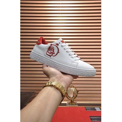 Replica Philipp Plein PP Casual Shoes For Men #814032 $82.00 USD for Wholesale