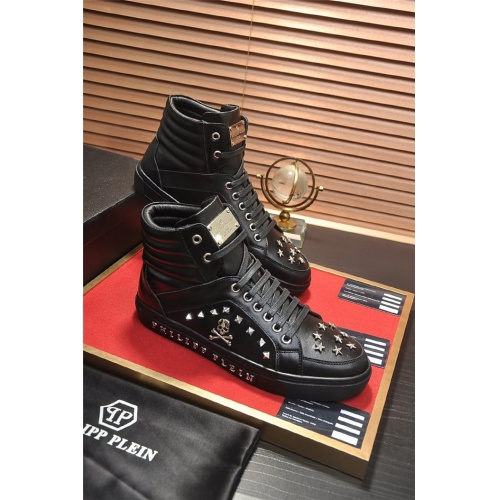 Philipp Plein PP High Tops Shoes For Men #814033