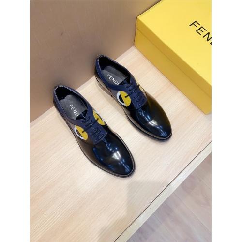 Fendi Leather Shoes For Men #814054