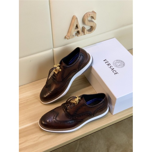 Versace Casual Shoes For Men #814057