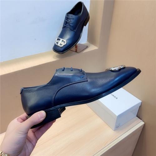 Balenciaga Leather Shoes For Men #814060