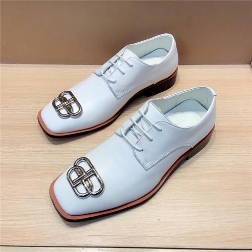 Balenciaga Leather Shoes For Men #814062