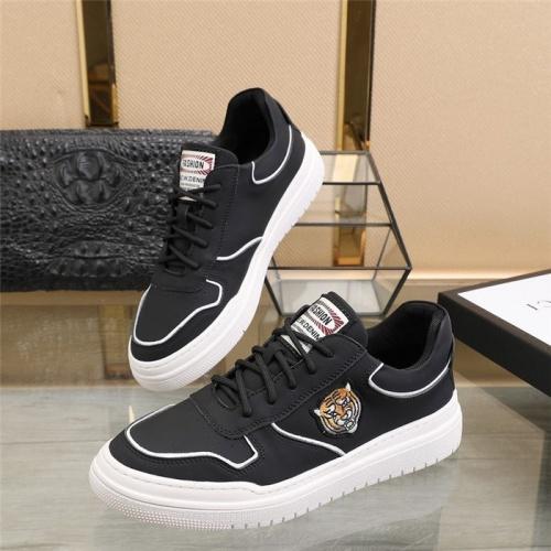 Versace Casual Shoes For Men #814077 $82.00 USD, Wholesale Replica Versace Casual Shoes