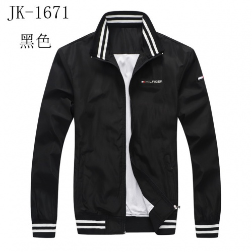 Thom Browne Jackets Long Sleeved Zipper For Men #814117 $38.00, Wholesale Replica Thom Browne Jackets