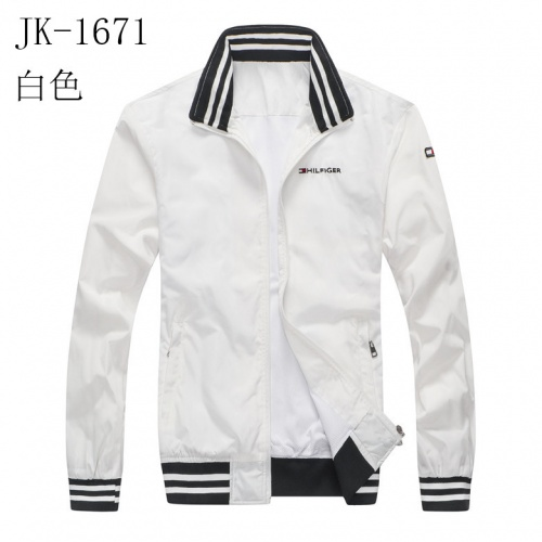 Thom Browne Jackets Long Sleeved Zipper For Men #814118 $38.00, Wholesale Replica Thom Browne Jackets