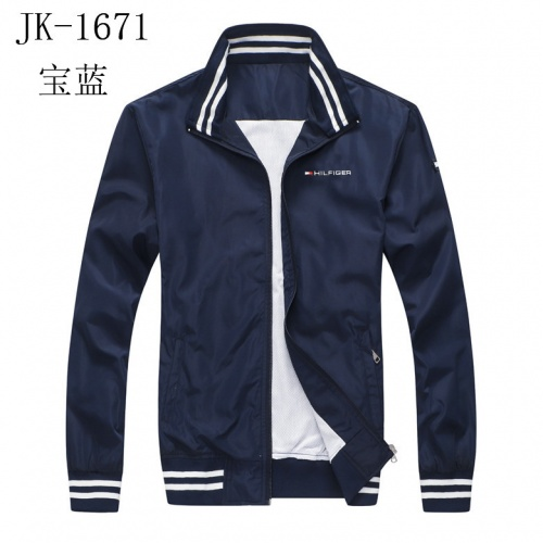 Thom Browne Jackets Long Sleeved Zipper For Men #814119 $38.00, Wholesale Replica Thom Browne Jackets