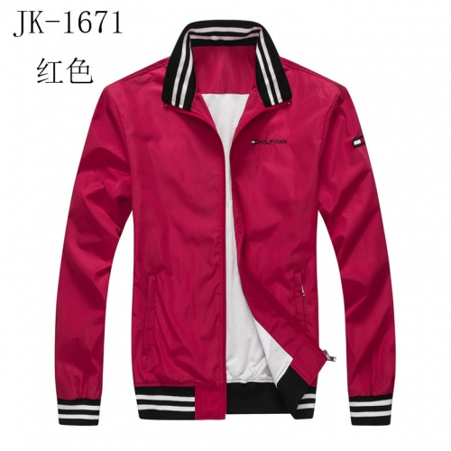 Thom Browne Jackets Long Sleeved Zipper For Men #814120 $38.00, Wholesale Replica Thom Browne Jackets