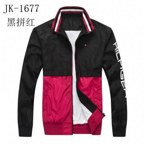Thom Browne Jackets Long Sleeved Zipper For Men #814122 $39.00, Wholesale Replica Thom Browne Jackets