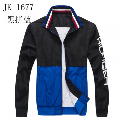Thom Browne Jackets Long Sleeved Zipper For Men #814123 $39.00, Wholesale Replica Thom Browne Jackets