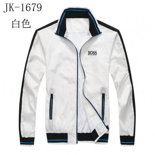 Boss Jackets Long Sleeved Zipper For Men #814124