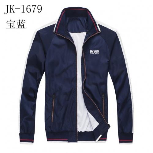 Boss Jackets Long Sleeved Zipper For Men #814125