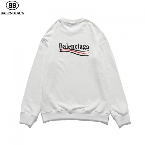 Balenciaga Hoodies Long Sleeved O-Neck For Men #814173