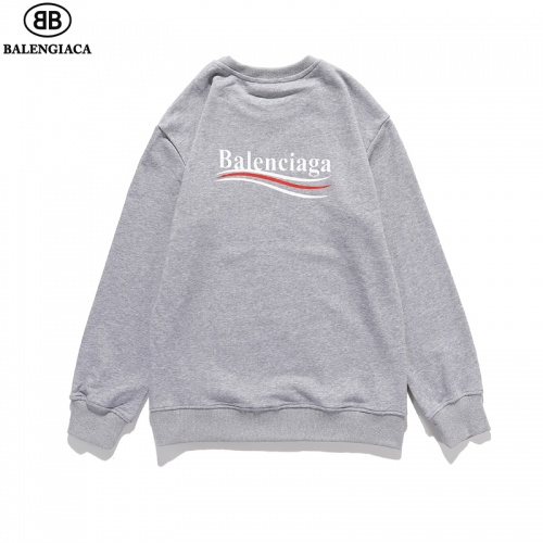 Balenciaga Hoodies Long Sleeved O-Neck For Men #814176