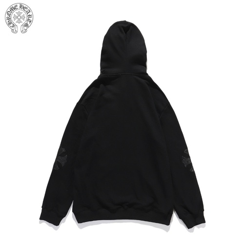 Replica Chrome Hearts Hoodies Long Sleeved Hat For Men #814196 $41.00 USD for Wholesale