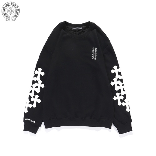 Chrome Hearts Hoodies Long Sleeved O-Neck For Men #814198