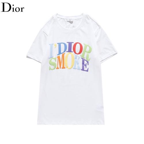 Christian Dior T-Shirts Short Sleeved O-Neck For Men #814207