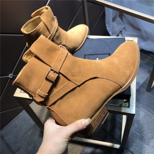 Replica Yves Saint Laurent Boots For Men #814239 $105.00 USD for Wholesale