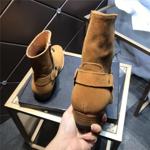 Replica Yves Saint Laurent Boots For Men #814242 $105.00 USD for Wholesale