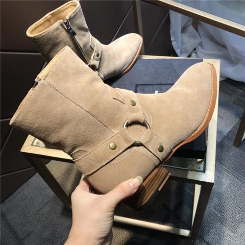Replica Yves Saint Laurent Boots For Men #814243 $105.00 USD for Wholesale