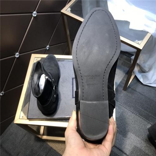 Replica Yves Saint Laurent Boots For Men #814244 $105.00 USD for Wholesale