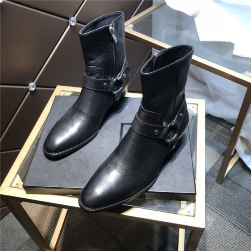 Yves Saint Laurent Boots For Men #814245
