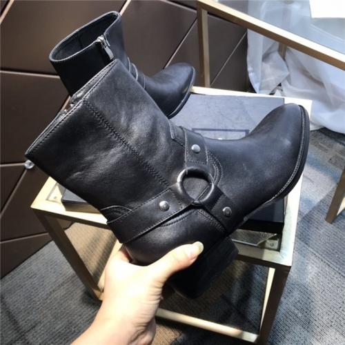 Replica Yves Saint Laurent Boots For Men #814245 $112.00 USD for Wholesale